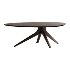 Rosemary Coffee Table Dark Walnut by Acme Furniture