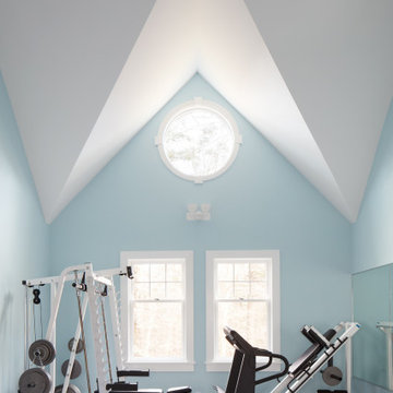 Northshore MA Whole House Remodel Home Gym