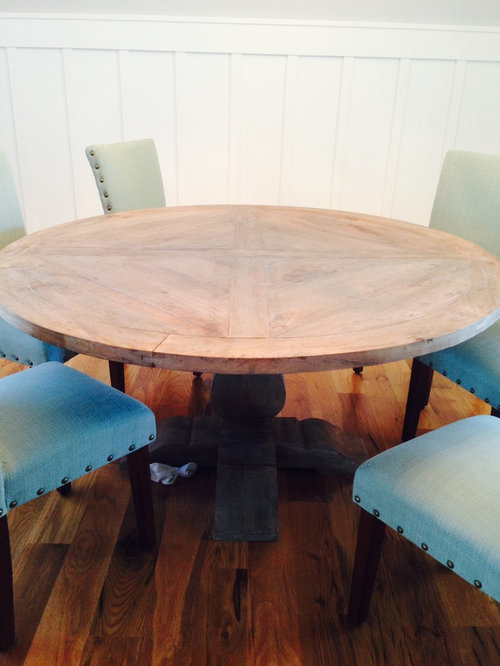 Need Help Getting Oil Stains Out Of My Dining Room Table