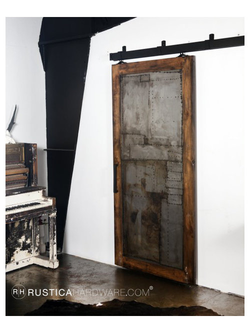 Inspiration for a contemporary home design remodel in Salt Lake City  sc 1 st  Houzz & Steampunk Door | Houzz