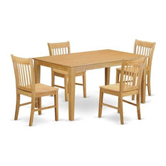 5-Piece Dining Room For 4 Set  Dining Table And 4 Chairs