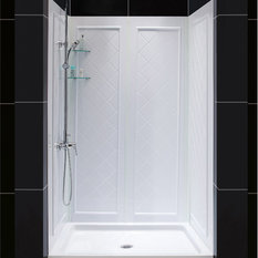 Acrylic Shower Stall Kits | Houzz