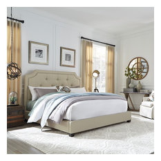 Upholstered Bed, King