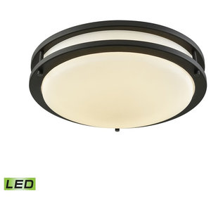 Oil Rubbed Bronze 2032OR Capital Lighting 2 Light Ceiling Fixture