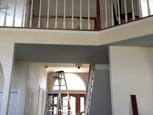 What Color To Paint Stair Banister And Treads