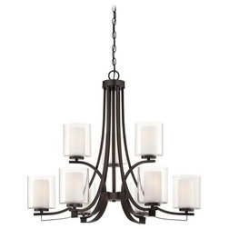 Vintage Transitional Chandeliers by Build