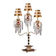 Birdland 3-Arm Table Lamp