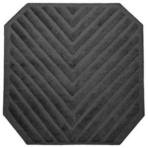 Path Square Rug, Stone Grey, 200x200 cm