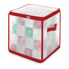 Whitmor, Inc. - Christmas Zippered Ornament Organizer - Holiday Storage