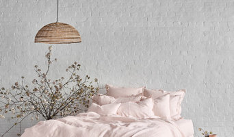 Pure Linen Quilt Cover Set In Peony