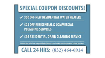 Affordable Plumber in Houston Texas