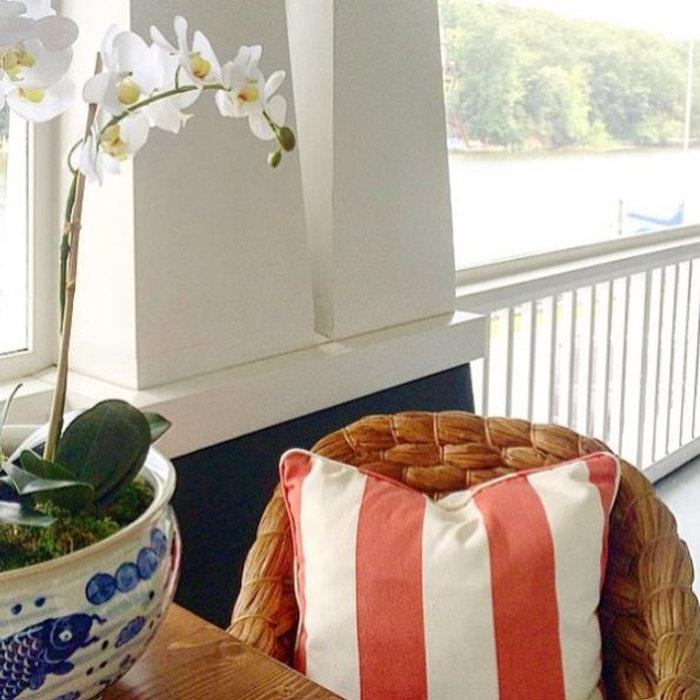 Laura Boyd Interior Design | Annapolis Maryland Porch Details