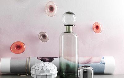 Tendances déco : Le verre, effets de style XXIᵉ siècle