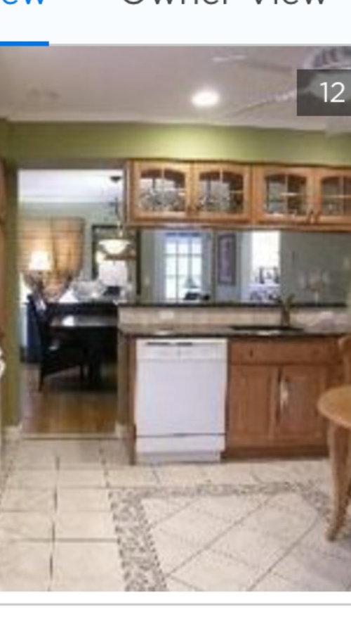 Kitchen floor time design