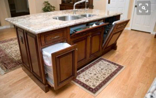 Flat Kitchen Island Or Step Up