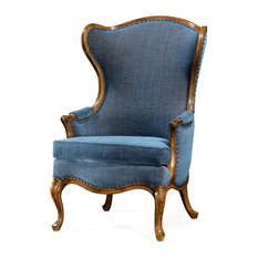 Louis XV Style Carved Wingchair