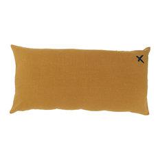 Lovers Linen Scatter Cushion, Butternut