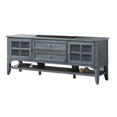Parker House Highland HIG#76 76-inch TV Console In Moss