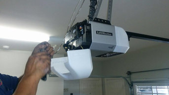 NEW GARAGE OVERHEAD DOOR OPENER INSTALLATION