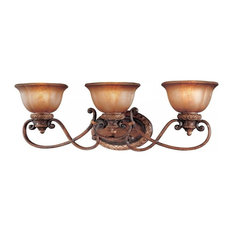 Minka Lavery 6353-177 3-Light Bath, Illuminati Bronze