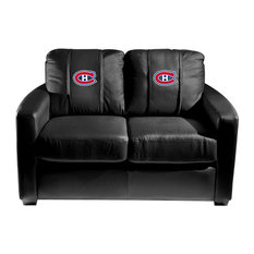 Montreal Canadiens NHL Silver Love Seat
