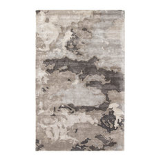 Jaipur Living Glacier Handmade Abstract Gray/Silver Area Rug, 2'x3'