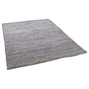 Harper Grey Rectangular Rug, 160x230 cm