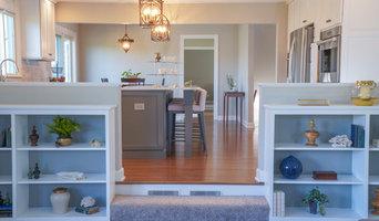 Kitchen w/ Bookshelf Remodel