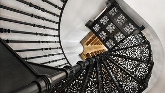 Victorian Spiral Staircase - Wine Cellar