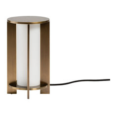 Brooklyn Fine Design - Charlotte Table Lamp in Brushed Bronze - Table Lamps