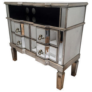 Emily Media Cabinet, 4 Drawers
