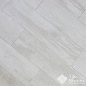 Colonial White Wood Plank Porcelain Tile