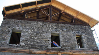 Renovation grange.
