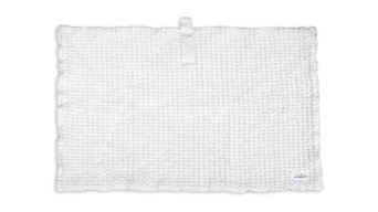 The Organic Company Big Waffle Bath Mat, White