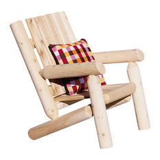 Rustic Cedar   Childrenu0027s Outdoor Log Design Cedar Chair   Kids Chairs