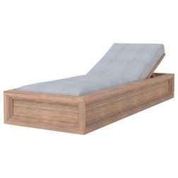 Contemporary Outdoor Chaise Lounges by Cavan