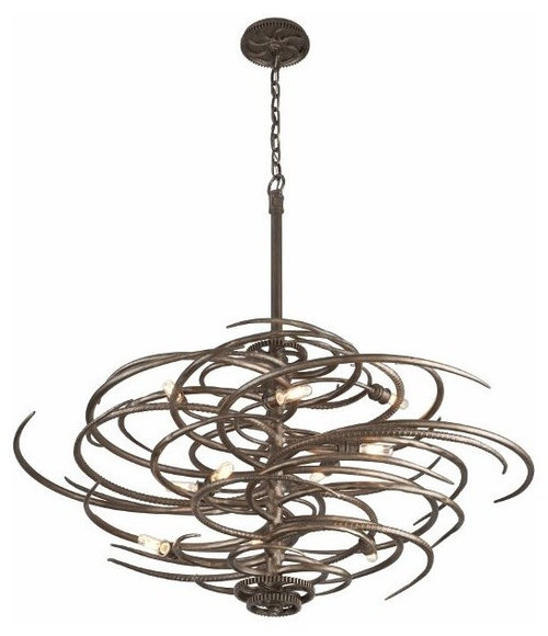 rustic industrial lighting chandeliers
