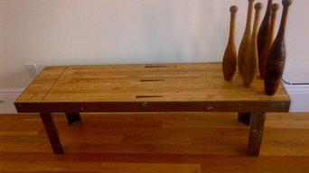 Custom industrial bench