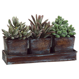 Rustic Artificial Plants And Trees by Silk Flower Depot