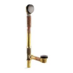 Kohler Clearflo Brass Toe Tap Bath Drain, Oil-Rubbed Bronze