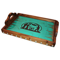 Cowboy Camp-Out Serving Tray