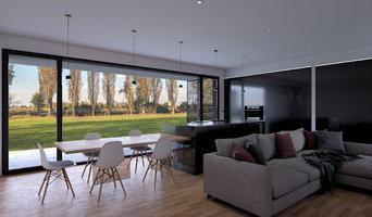 Photorealistic Rendering EM House   Cassola   Casa Prefabbricata in Legno