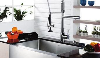 Комплект кухонная мойка, смеситель, дозатор