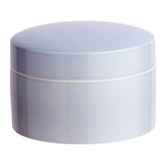 Anne Black Contain Jar, Low, Thunder, Medium