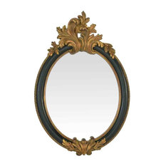 EMDE Baroque Oval Mirror