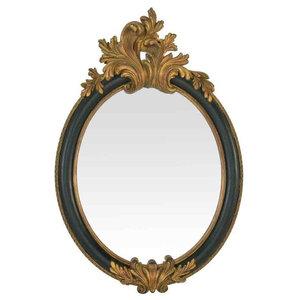 EMDE Baroque Oval Mirror