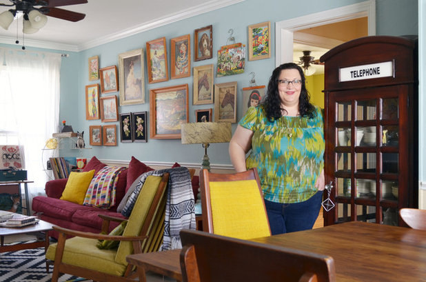 My Houzz A Whimsical Museum Gallery In Texas