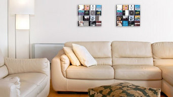 Media Wall storage CD-Wall4x4 - mount your finest music CDs flat at wall