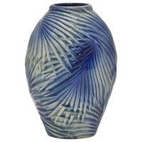 """Ceramic Vase, 10.75"""""""