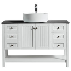 Epic Beach Style Bathroom Vanities And Sink Consoles by Vinnova